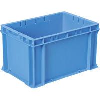 DICプラスチック DIC F型コンテナFー21 外寸:W424×D291×H244.5 青 F21 1個 501ー1701 (直送品)