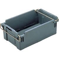 岐阜プラスチック工業 リス HB型コンテナーHBー37 グレー HB37 1個 503ー6941 (直送品)