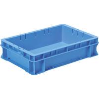 DICプラスチック DIC F型コンテナFー8 外寸:W424×D291×H102.5 青 F8 1個 501ー1302 (直送品)