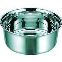スギコ産業(SUGICO) ステンレス湯桶 220×H93 2.7L ゴム付 MAU-22G 1個 311-2560 (直送品)
