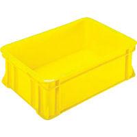 三菱樹脂 ヒシ S型コンテナ 黄 S29 1個 509ー4569 (直送品)