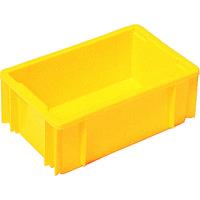 三菱樹脂 ヒシ C型コンテナ 黄 C7 1個 503ー6160 (直送品)