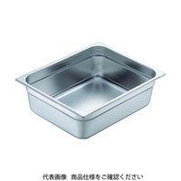 スギコ産業(SUGICO) 18-8スーパーデラックスパン 1/2サイズ 325×265×150 9.4L SH-1526SW 1枚 500-7941(直送品)