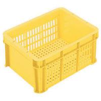 三菱樹脂 ヒシ SB型コンテナ(メッシュタイプ) 黄 SB12 1個 511ー6511 (直送品)