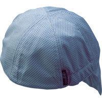 FUKUTOKU(福徳産業) ヘルメット関連用品 クール用心帽グレー ポリエステル グレー 9650GY 1枚 308-6771 (直送品)