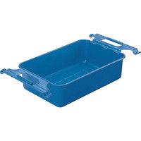 トラスコ中山 TRUSCO 取手付パーツBOX 有効内寸395X242X118 ブルー M4 1個 507ー2247 (直送品)