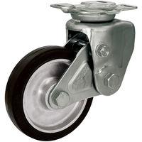 シシクSISIKUアドクライス(株 シシク 緩衝キャスター 固定 200径 ゴム車輪 SAKTO200TRAW 1個 353ー5321 (直送品)