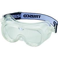 TRUSCO(トラスコ中山) マスク併用 飛来粉塵用超硬防曇セーフティゴーグル ポリカーネートレンズ TVFSG 299-7894 (取寄品)