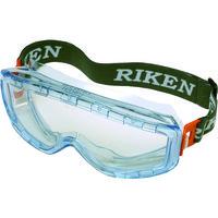 RIKEN OPTECH(理研オプテック) 一眼型保護 マスク併用 防曇ゴーグル M31BVF 1個 324-3877 (取寄品)