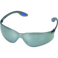 TRUSCO(トラスコ中山) 保護メガネ・ゴーグル 一眼型セーフティグラス スモーク TRS980S 1個 299-7835 (取寄品)