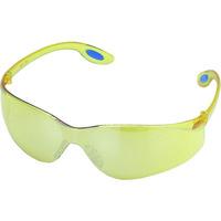 TRUSCO(トラスコ中山) 保護メガネ・ゴーグル 一眼型セーフティグラス イエロー TRS980Y 1個 299-7851 (取寄品)