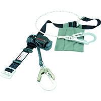 胴ベルト型 1本吊り(ロープ式) タイタン 軽量巻取式安全帯EL504-BL ブラック EL504WDHBL 354-4869 SANKO(サンコー)(直送品)