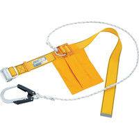 1本吊り(ロープ式) タイタン 胴ベルト型安全帯スライド式バックル イエロー SK24 1本 120-4734 SANKO(サンコー) (直送品)