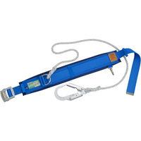 1本吊り(ロープ式) スライド式 軽量 タイタン 胴ベルト型安全帯カルラック スカイブルー PRO24AP 120-5285 SANKO(サンコー) (直送品)