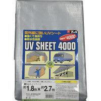 ユタカメイク ユタカ シート #4000シルバーシート 1.8×2.7 SL4002 1枚 367ー7265 (直送品)