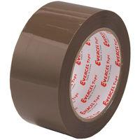 エバーセル OPPテープ No.830NEV 0.09mm厚 ブラウン 幅50mm×50m巻 1セット(15巻:5巻入×3パック) 積水化学工業