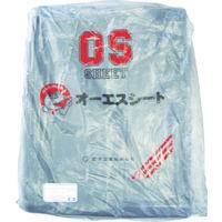 萩原工業 OSブラックシート3.6m×5.4m OSB3654 1枚 351ー6725 (直送品)
