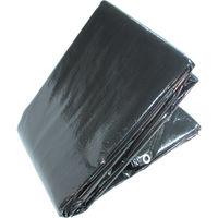 萩原工業 OSブラックシート10m×10m OSB1010 1枚 351-6717 (直送品)