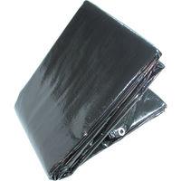 萩原工業 OSブラックシート5.4m×7.2m OSB5472 1枚 351ー6733 (直送品)