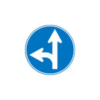 トーグ安全工業 トーグ メラミン標識 「A指定方向外禁止」 ARR311A 1枚 354ー2726 (直送品)