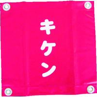 ユタカメイク ユタカ 安全表示旗(ハト目・キケン) AF2225 1セット(3枚:3枚入×1袋) 351ー4501 (直送品)