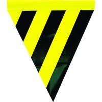 ユタカメイク(Yutaka) 安全表示旗(筒状・トラ模様) AF-1114 1袋(3枚) 351-4277 (直送品)