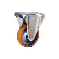 シシクSISIKUアドクライス(株 シシク 静電気帯電防止キャスター ウレタン車輪固定 100径 EUWK100 1個 353ー5118 (直送品)