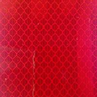 トラスコ中山(TRUSCO) 高輝度反射シート カプセルレンズ型 227mmX227mm 赤 HS-2222C R 1枚 220-8733 (直送品)
