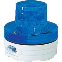 日動工業 日動 電池式LED回転灯 ニコUFO 夜間自動点灯タイプ 青 NUBB 1個 368ー6507 (直送品)