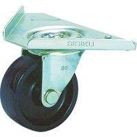 シシクSISIKUアドクライス コーナーキャスター ナイロン車輪 65径 ユニクロメッキ CC-65U-BN 1個 353-5673 (直送品)