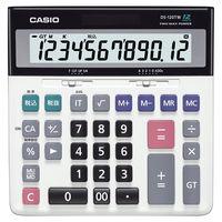 カシオ計算機 大型卓上加算器方式電卓 DS-120TW
