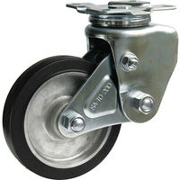 シシクSISIKUアドクライス(株 シシク 緩衝キャスター 自在 200径 ゴム車輪 SAJTO200TRAW 1個 353ー5266 (直送品)