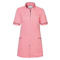 トンボ トンボメディカル レディスチュニック CM028 ピーチ M 医療白衣 1枚 (取寄品)
