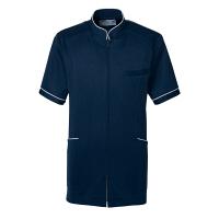 トンボ トンボメディカル メンズジャケット CM204 ネイビー LL 医療白衣 1枚 (取寄品)