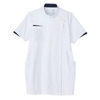 トンボ トンボメディカル マタニティチュニック CM051 ホワイト L 医療白衣 1枚(取寄品)