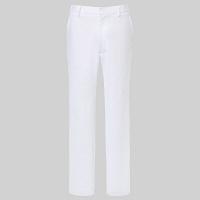 トンボ トンボメディカル メンズパンツ CM523 ホワイト L 医療白衣 1枚 (取寄品)