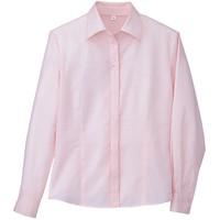 BON(ボン) 事務服 小さいサイズ 長袖開襟ブラウス ピンク 7号