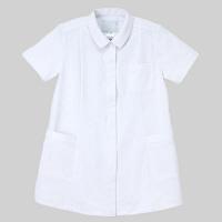 ナガイレーベン マタニティチュニック HOS-1952 ホワイト L 医療白衣 1枚 (取寄品)