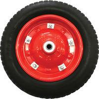 トラスコ中山(TRUSCO) ボンベ台車用車輪 車輪Φ360 HT64 65 66N用 HT-NP360 1個 303-3635 (直送品)