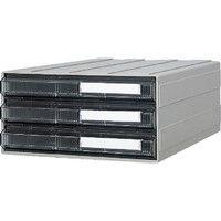 サカセ化学工業 サカセ ビジネスカセッター A4タイプ 引出3段 A4243 1個 510ー0178 (直送品)