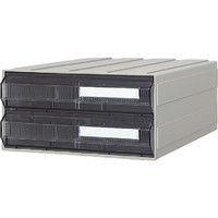 サカセ化学工業 サカセ ビジネスカセッター A4タイプ 引出2段 A4242 1個 510ー0160 (直送品)