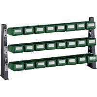 トラスコ中山 TRUSCO UPR型ライトビンラック卓上用 Kー10HX24個 UPRML1803K 1台 330ー4566 (直送品)