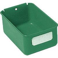 トラスコ中山 TRUSCO スチール製ライトビン 98X158XH66 緑 K10H 1個 507ー0023 (直送品)