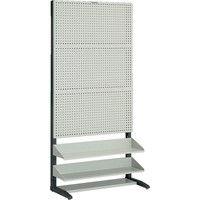トラスコ中山 TRUSCO UPR型パンチングラック 棚板2段付 UPR3002 1台 501ー5561 (直送品)