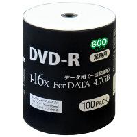 HIDISC DVD-R データ用 16倍速 ワイドプリンタブル DR47JNP100_BULK 1パック(100枚入)