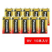パナソニック アルカリ乾電池 9V形 6LR61XJ/1S 1パック(10本入)