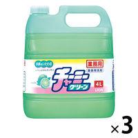 チャーミーグリーン 業務用4L(注ぎ口ノズル付) 1箱(3本入)