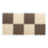 ジョイントカラーマット チョコレート 1セット(8枚入)