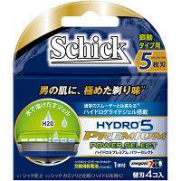ハイドロ5プレミアム パワーセレクト 替刃 4個 シック・ジャパン