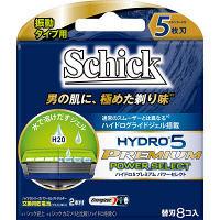 ハイドロ5プレミアム パワーセレクト 替刃 8個 シック・ジャパン